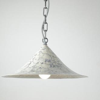 Пдвесная люстра в индустриальном стиле, керамика, Современная серая лампа - подвес