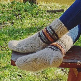Носки из натуральной овечьей шерсти