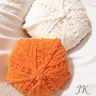 Декоративные плюшевые подушки
