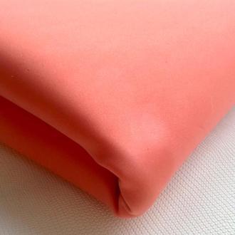 Шёлковый фоамиран 50*70 см,цвет светлый красный