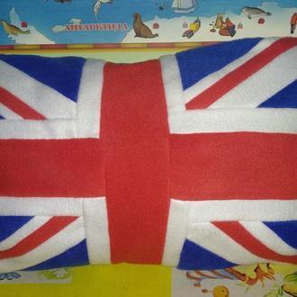 Подушка британский флаг