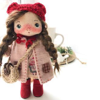 Текстильная куколка. Новогодняя куколка с символом года.