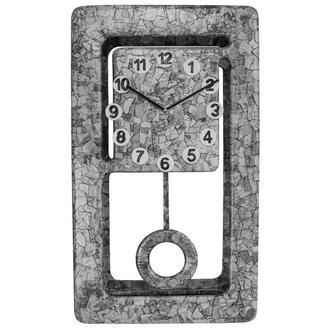 "Настенные Интерьерные Часы ""Gray Stone"" ручная работа"