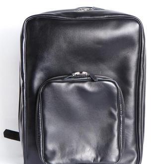 Стильный кожаный многофункциональный рюкзак