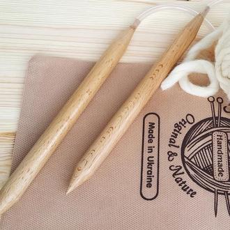Спицы для вязания круговые, d15мм