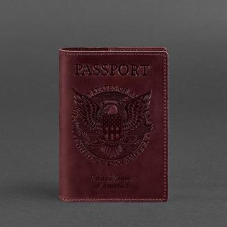Обложка для паспорта с американским гербом, Виноград
