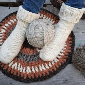 Шкарпетки вовняні / Вязаные носки / Шерстяные носки