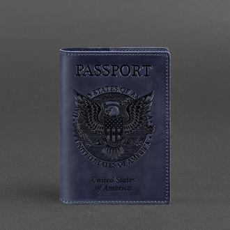 Обложка для паспорта с американским гербом, Ночное небо