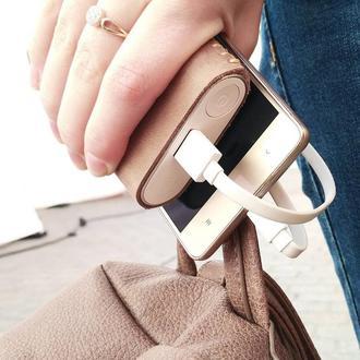 Кожаный чехол для Xiaomi PowerBank