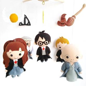 Мобиль Гарри Поттер, мобиль в кроватку, музыкальный мобиль