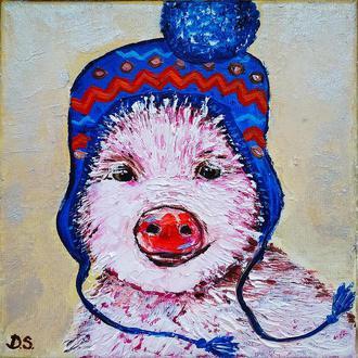 Свинка Лу (миниатюра)