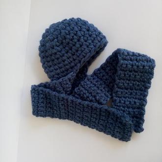 Шапка Зимняя Женская. Шапка - ушанка. Шапка - шарф.