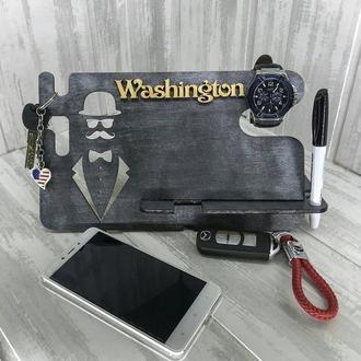 Подставка органайзер для телефона