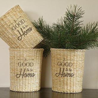 """Декоративные корзины в стиле """"Farmhouse"""""""