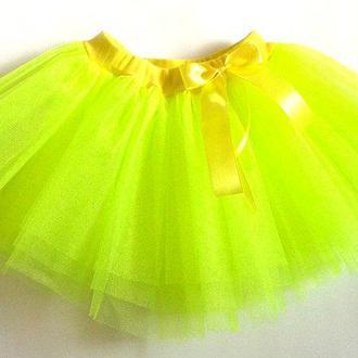 Детская юбка из фатина для девочки рр.92-128