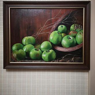 """Картина """"Зелені яблука"""""""