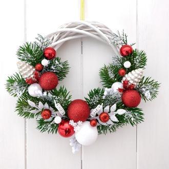 """Новогодний веночек """"Рождественская сказка"""""""
