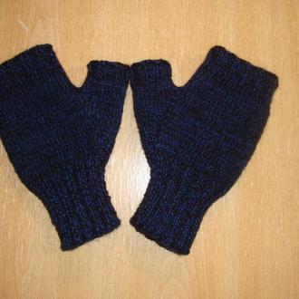 Перчатки митенки мужские универсальные (зима)