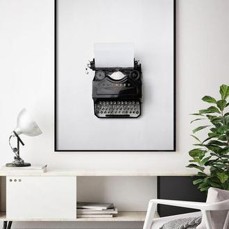Фотопостер Печатная машинка