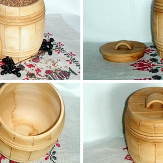 Боченок глиняный ручной работы