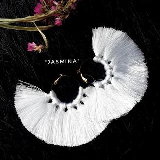"Серьги-кольца ""Jasmina"""