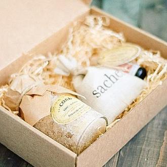 Ароматерапия(саше+масло+соль)Подарок для женщины/девушки/корпоративный/набор спа релаксации