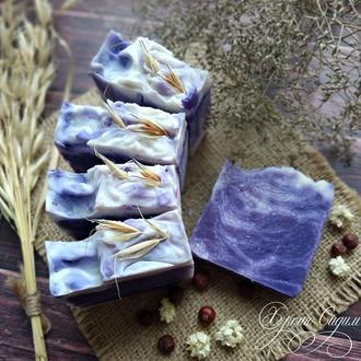 Натуральное мыло «Черника и Ростки пшеницы»