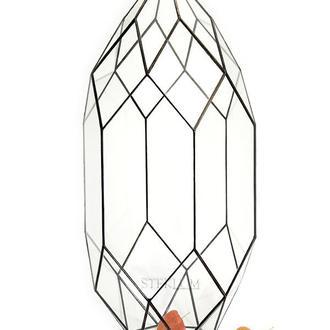 Флорариум №12 maxi Cone black
