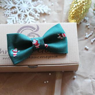 "Бабочка новогодняя ""Дед Мороз с подарками"""