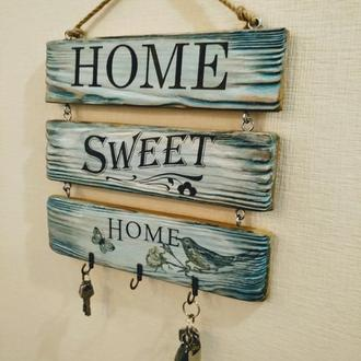 Ключница-панно Home sweet home