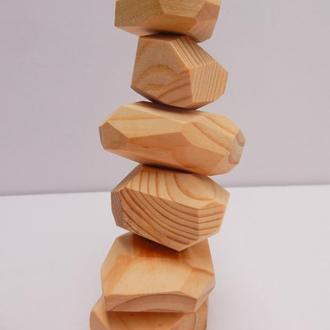 Настольная игра Туми иши, деревянные камни