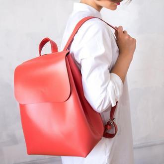 Женский кожаный рюкзак She Backpack