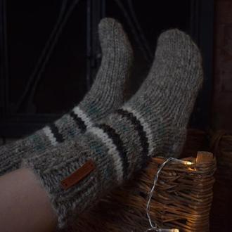 Теплі вовняні шкарпетки