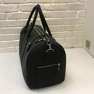 Дорожная сумка. Черная сумка. Большая дорожная сумка.