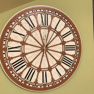 Настенные часы ,предновогодняя