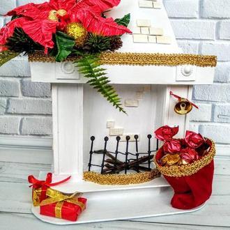 Камин-шкатулка | Подарочная упаковка | Новогодний сувенир