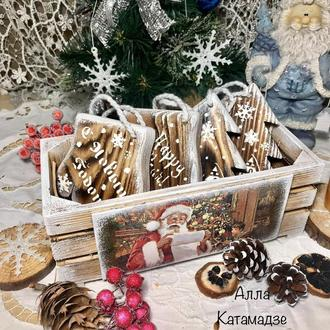 Набор новогодних украшений «Зима»