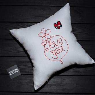 Декоративная подушка для души или на подарок