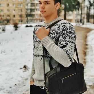 Кожаная сумка Джейкоб