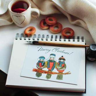 "Листівк ""Merry Christmas"""