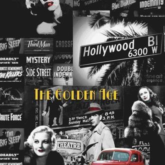 Декупажная карта Голивуд Америка Кино Машины Монро Детектив Винтаж 141V 55 г/м2, А4, 210Х290 мм