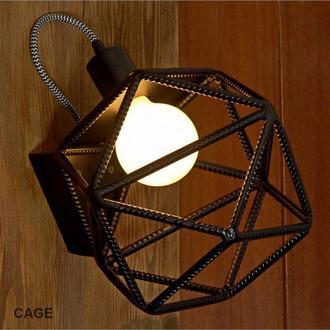 Настенный светильник, бра CAGE