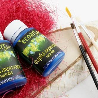 Краска акриловая художественная Цвет Атлантика 50 мл