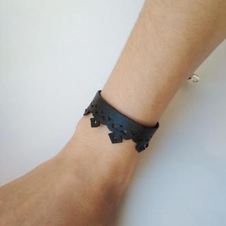 """Кожаный браслет """"Lace"""""""