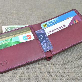 Красивый небольшой кошелек из натуральной кожи K04-800