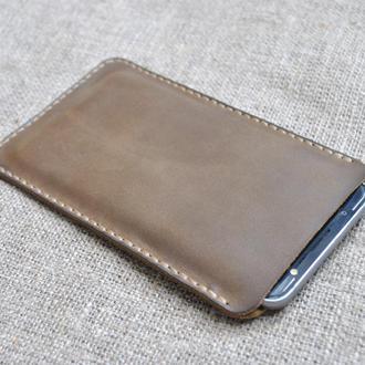 Чехол-карман из натуральной кожи H08-320