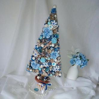 Новогодняя елка , высота 35 см, подарок к Новому году