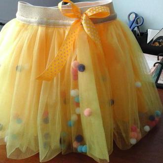Детская юбка пачка, юбка для девочки,юбка туту, фатиновая юбка, юбка из фатина