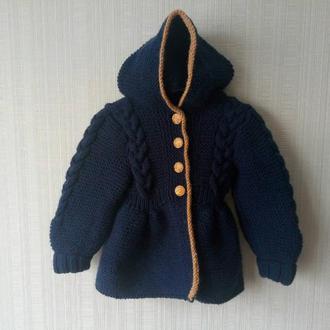 Оригинальное пальто для девочки!