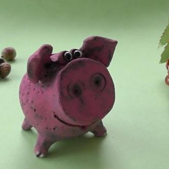 Свинья Копилка №12 свинка